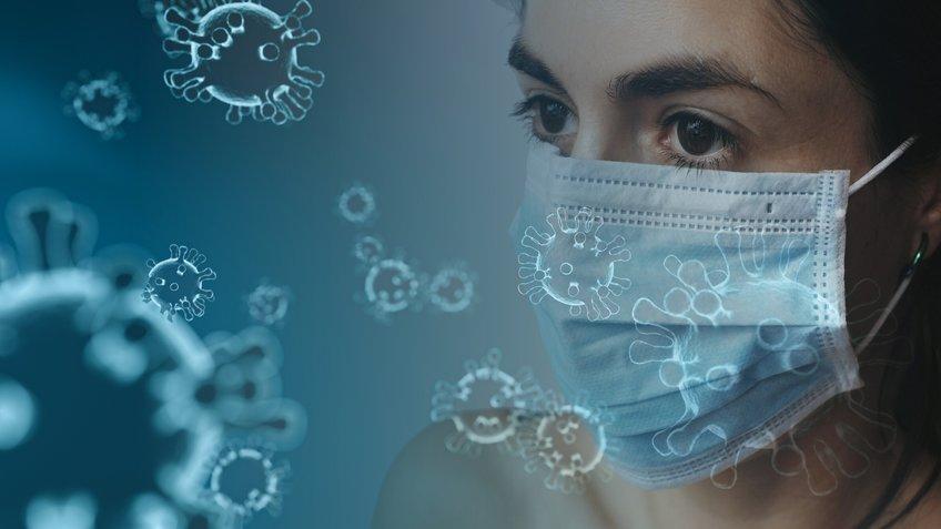现在可以使用一种算法来确定在封闭的房间内通过微小的悬浮颗粒感染SARS-CoV-2冠状病毒的风险有多高.jpg